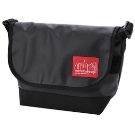 マンハッタン ポーテージ Matte Vinyl Casual Messenger Bag JR ユニセックス Black S 【Manhattan Portage】