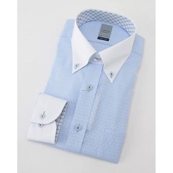 <LORDSON/ロードソン> 長袖色ドビーワイシャツ(ZOD392-250)(MO019N0MO00000FIX) 250スカイブルー 【三越・伊勢丹/公式】
