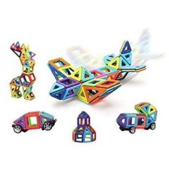 【ベビーサプライヤー】マグネット ブロック 知育玩具 立体 ミニ パズル 磁石 積み木 ベビー キッズ 男の子 女の子
