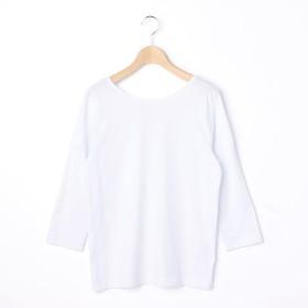 [マルイ]【セール】【handvaerk】V-Back 7分袖Tシャツ WOMEN/ビショップ(レディース)(Bshop)