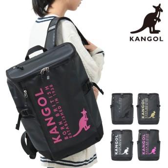 カンゴール リュック 23L メンズ レディース 250-4950 KANGOL | リュックサック バックパック スクエア A4 通学 [PO10]