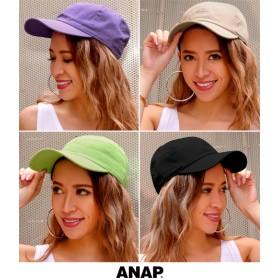 【セール開催中】ANAP(アナップ)6パネルツイルカラーキャップ