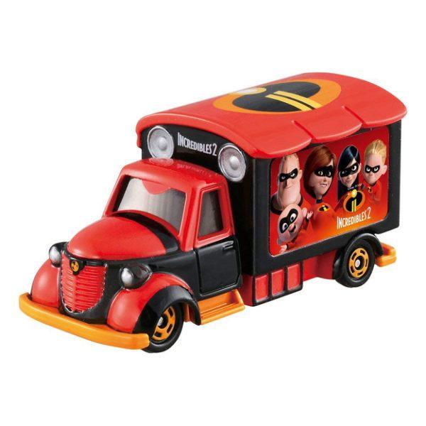 TOMICA小車-迪士尼夢幻車隊-超人特攻隊宣傳車-玄衣美舖