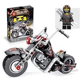 積木ハレーバイク 手動組み立 丈夫である 学習玩具 創造力を育てるモデル 男の子と女の子 誕生日プレゼントやクリスマスプレゼントに適し