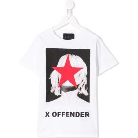 John Richmond Junior グラフィック Tシャツ - ホワイト