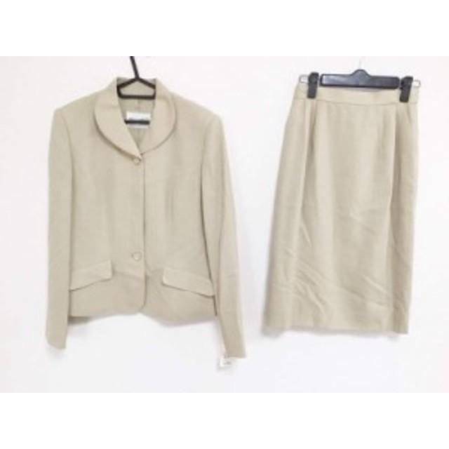 ミスアシダ miss ashida スカートスーツ サイズ9 M レディース 美品 ベージュ【中古】