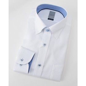 <LORDSON/ロードソン> 長袖白ドビーワイシャツ(ZOD393-200)(MO019N0MO00000FIY) 200シロ 【三越・伊勢丹/公式】