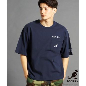 【68%OFF】 グランドパーク KANGOLコラボビッグTシャツ メンズ 67ネイビー 48(L) 【Grand PARK】 【タイムセール開催中】