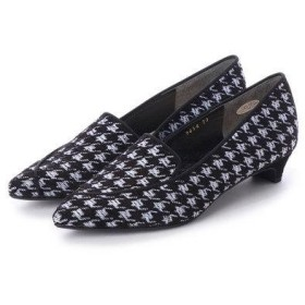 アンタイトル シューズ UNTITLED shoes パンプス (ブラックファブリック)