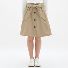 (GU)GIRLSトレンチスカート BEIGE 110