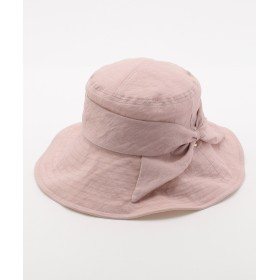 【オンワード】 MOONBAT(ムーンバット) FURLA 帽子 ペールピンク M レディース 【送料無料】