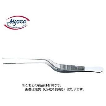 05-2855-01 マイスコルーツェピンセット(鼻用) 規格:有鈎 サイズ(全長):170mm (05285501)