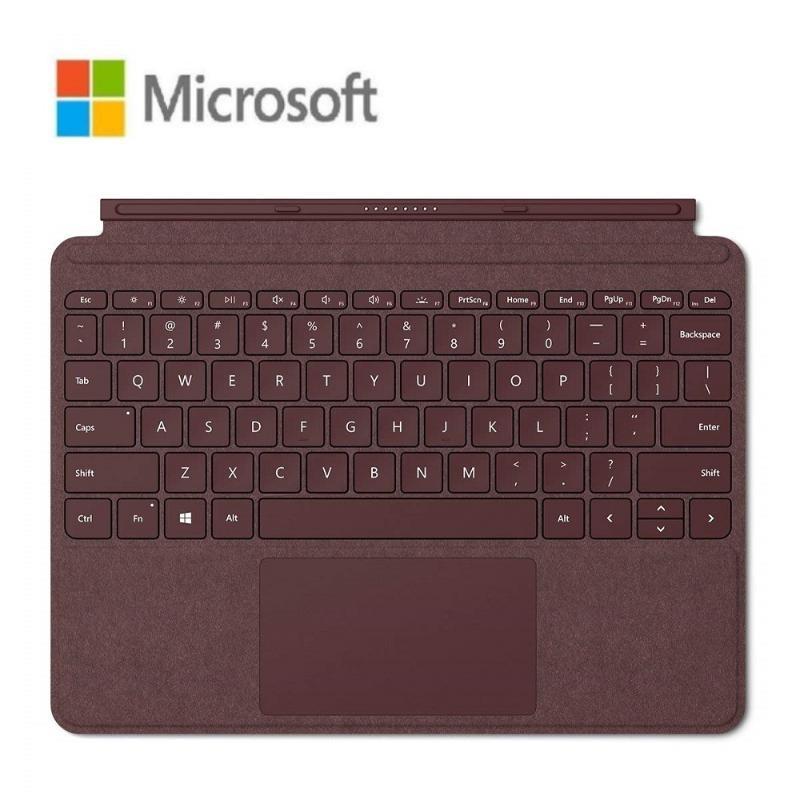 Microsoft Surface Go 實體鍵盤 酒紅色