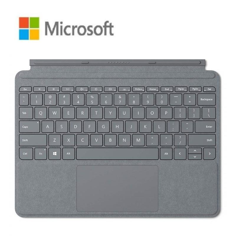 Microsoft Surface Go 實體鍵盤 白金色