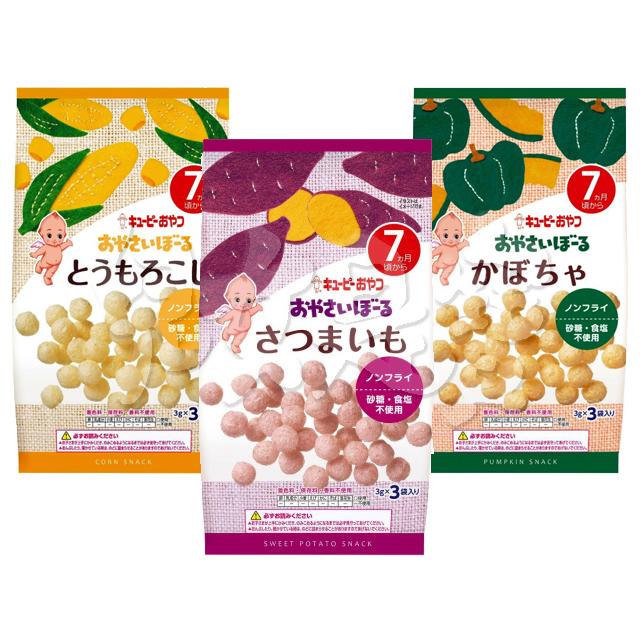 日本Kewpie 寶寶菓子球系列