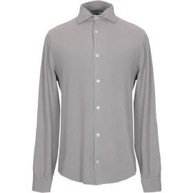 《期間限定セール開催中!》FEDELI メンズ シャツ ドーブグレー 54 コットン 100%