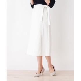 OPAQUE.CLIP(オペークドットクリップ) デニムロングラップスカート