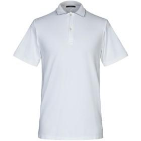 《セール開催中》DANDI メンズ ポロシャツ ホワイト XXL コットン 95% / ポリウレタン 5%