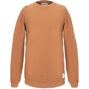 《セール開催中》THE EDITOR メンズ スウェットシャツ キャメル XL コットン 100%