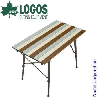 ロゴス テーブル Life オートレッグテーブル 9050 ( ヴィンテージ ) アウトドア 机