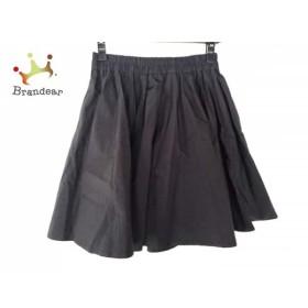 ミューズデドゥーズィエムクラス スカート サイズ36 S レディース 黒 ウエストゴム     スペシャル特価 20191020
