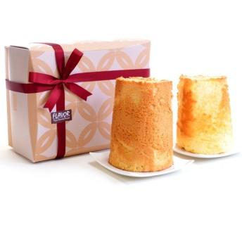 内祝い フレイバー メープルシフォンケーキ&ダブルレモンシフォンケーキセット