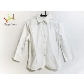 ナラカミーチェ NARACAMICIE 長袖シャツ サイズ2 M メンズ 美品 白   スペシャル特価 20190609