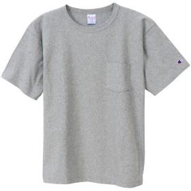 リバースウィーブ ポケットTシャツ 19FW リバースウィーブ チャンピオン(C3-P318)【5400円以上購入で送料無料】