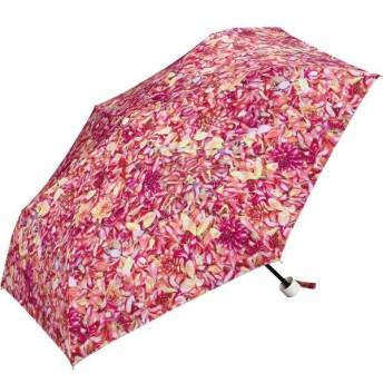 plantica 晴雨兼用 フラワーアンブレラ ミニ ピンク