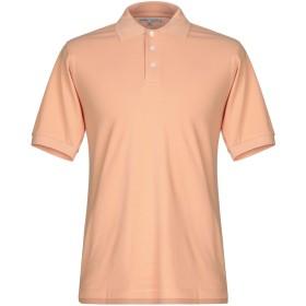 《期間限定 セール開催中》HARDY CROBB'S メンズ ポロシャツ あんず色 XXL コットン 100%