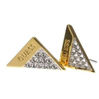 ゲス GUESS E-SPARKLE FOLDED STUDS PIERCE (GOLD)