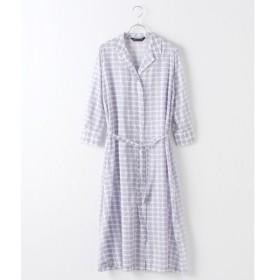 MARcourt / マーコート print lomg shirt OP