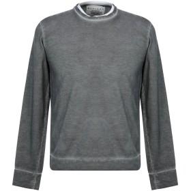 《期間限定セール中》OBVIOUS BASIC メンズ スウェットシャツ 鉛色 S コットン 100%