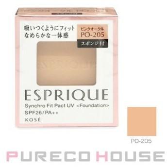 コーセー エスプリーク シンクロフィット パクト UV (レフィル) スポンジ付き 9.3g #PO-205【メール便可】