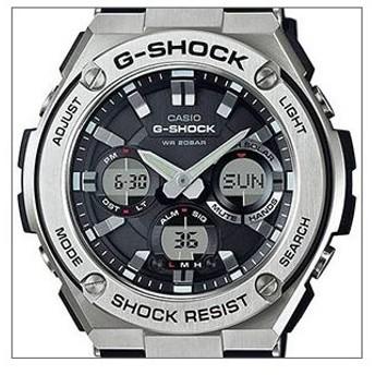 海外CASIO 海外カシオ 腕時計 GST-S110-1A メンズ G-SHOCK ジーショック G-STEEL Gスチール タフソーラー(国内品番 GST-S110-1AJF)