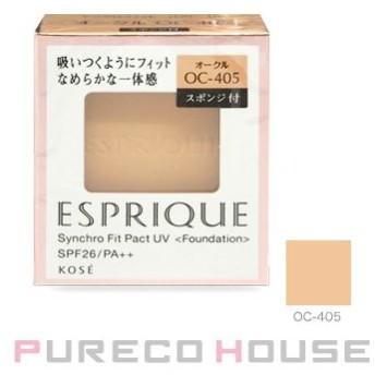 コーセー エスプリーク シンクロフィット パクト UV (レフィル) スポンジ付き 9.3g #OC-405【メール便可】