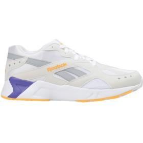 《期間限定セール開催中!》REEBOK メンズ スニーカー&テニスシューズ(ローカット) ホワイト 7.5 紡績繊維 AZTREK