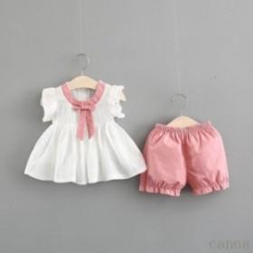 8257911ac17d0 半袖Tシャツ+フレアスカート 子供服 2点セット 子供 キッズ 花柄 フレア ...