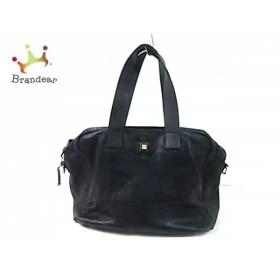 セリーヌ CELINE ハンドバッグ - 黒×ダークブラウン レザー                   スペシャル特価 20190805
