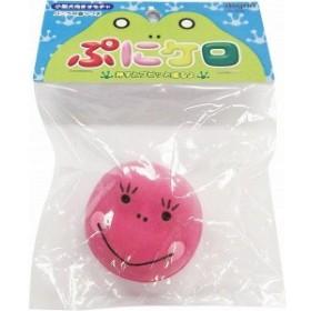 スーパーキャット 小型犬向けおもちゃ ぷにケロ TL-137 ピンク