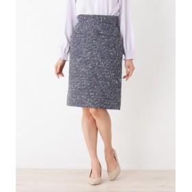 index(インデックス) 【洗える】サマーツィード タイトスカート