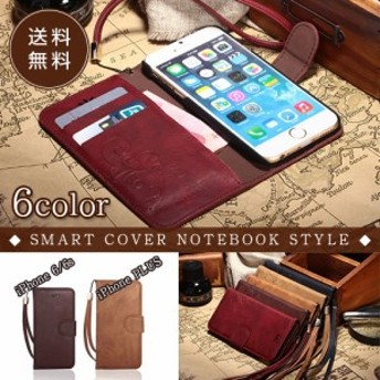 iPhone6s ケース iPhone6 ケース 手帳型 ケース SMART COVER NOTEBOOK iPhone6s Plus ケース 手帳型 iphone6 Plus 手帳 革