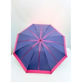 折り畳み傘 レディース 傘 雨傘 折畳傘 婦人 日本製 国産 甲州産 先染 朱子格 中線 ジャガード 8本骨