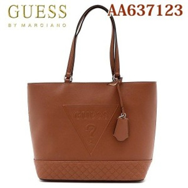 6fa43ab5a6f7 GUESS ゲス Bolsa Guess Logo Preta トートバッグ AA637123 通販 LINE ...
