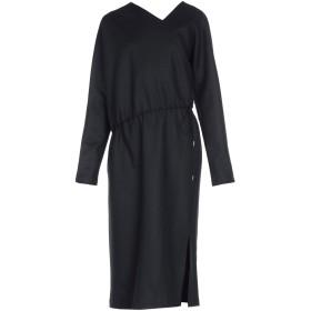 《期間限定 セール開催中》JIL SANDER レディース 7分丈ワンピース・ドレス ブラック 40 ウール 100%
