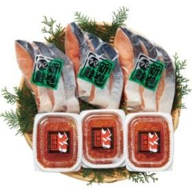 【送料無料】鮭親子セット【代引不可】【ギフト館】