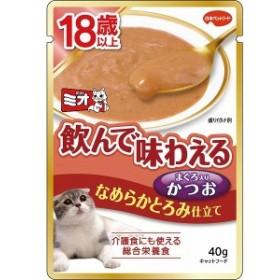 日本ペット ミオレトルト 18歳以上 なめらかとろみ かつお 40g 猫用 キャットフード