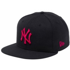 【新品】 【再入荷】 ニューエラ 950 スナップバック キャップ ニューヨークヤンキース カスタム ブラック ストロベリー