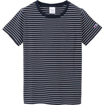 ウィメンズ ポケットTシャツ 19FW チャンピオン(CW-P301)【5400円以上購入で送料無料】