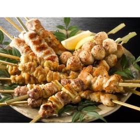 鶏三和 名古屋コーチン焼き鳥串5種盛合せ